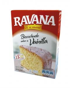 3D Ravana Bizcochuelo Vainilla 2015