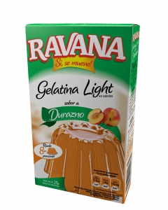 3D Ravana Gelatina Durazno Light 2015