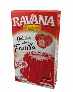 3D Ravana Gelatina Frutilla 2015