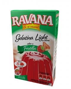 3D Ravana Gelatina Frutilla Light 2015
