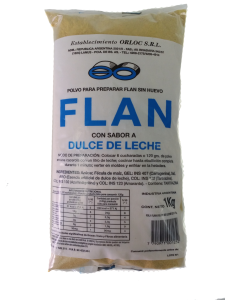 FLAN DULCE DE LECHE 1KG