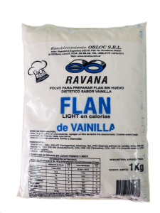 FLAN VAINILLA LIGHT 1KG