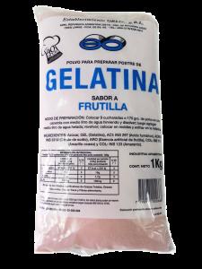 GELATINA FRUTILLA 1KG