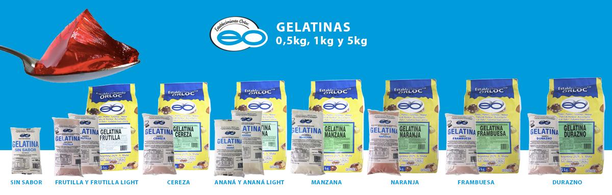 GELATINAS-ORLOC